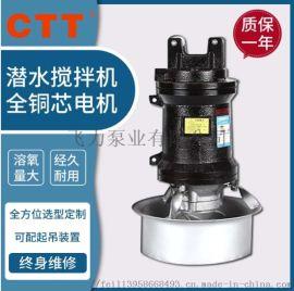水下搅拌器,污水防沉淀搅拌器, QJB潜水搅拌器