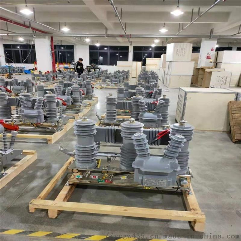 蚌埠10KV真空斷路器ZW32-12/630A ZW32-12看門狗斷路器生產廠家
