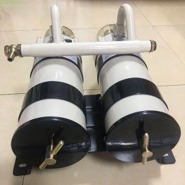 雙聯柴油過濾器大流量加油機油水分離過濾器貨車