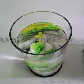 圓柱形亞克力魚缸缸體定制圓柱形魚缸廠家直銷