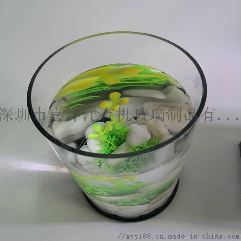 圓柱形亞克力魚缸缸體定製圓柱形魚缸廠家直銷