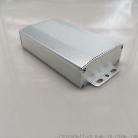 64*25.5铝盒电路板外壳电源机箱铝材合金仪表过线壳体DIY加工8006