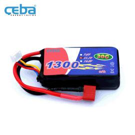 锂聚合物电池11.1V航拍无人机电池1300mAh