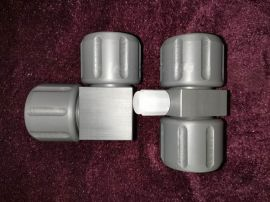 PVC扩口直通 PVC扩口弯头 PVC扩口三通接头