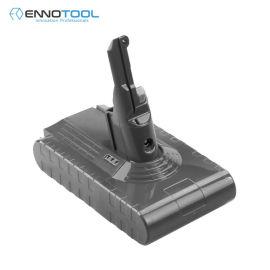 适用于21.6V戴森真空吸尘器工具锂电池V8