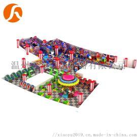 商场淘气堡大型室内体能拓展儿童乐园英伦风系列新款