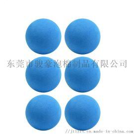 实心eva  球幼儿园弹力球儿童彩色海绵球