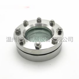 DN80不锈钢法兰视镜 hg/t21619法兰视镜