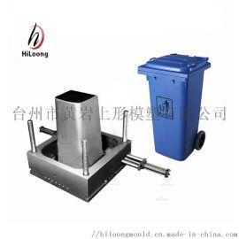 专业垃圾桶模具设计生产,分类垃圾桶模具专业生产厂家