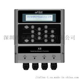 外夹式超声波流量计 aFluxX8超声波流量计