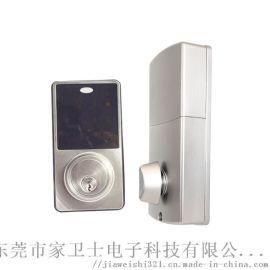 电子触摸屏密码锁 锌合金材质智能电子数字密码门锁