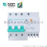 天正电气 空气开关 TGB1NLE-32 3P+N C 6A-32A 30mA-300mA微型漏电保护断路器