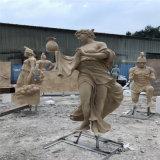 歐式人物雕塑 名圖玻璃鋼人物雕像 廣場公園景觀造型