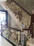高档别墅铝雕楼梯护栏 铜雕楼梯护栏