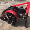拖拉机配套果树培土机,旋耕刀式树苗培土机