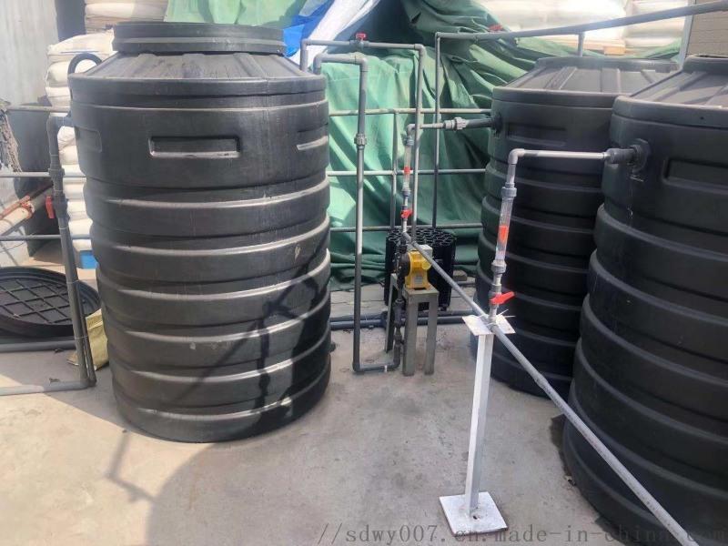 一体化农村水处理设备_新农村污水处理净化槽