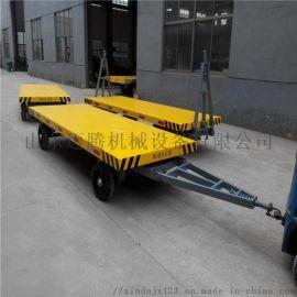 4t平板拖车,厂区运输平板车