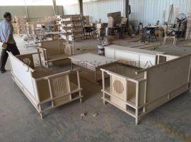 美硕新中式实木沙发客厅组合家具禅意轻奢小户型可拆装