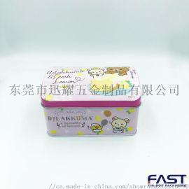 橙味饼干包装罐,儿童礼品包装盒