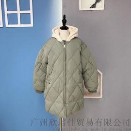 韓米娜冬季棉衣 一線大牌韓系童裝尾貨