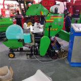 裹塑料膜青贮覆膜机 全自动打捆包膜机 牧草饲料机械