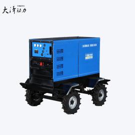 户外焊接400A发电电焊机