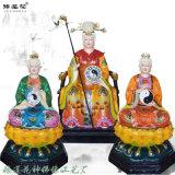女娲娘娘神像图片 十二老母神像厂家 彩绘贴金佛像