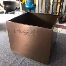 304不锈钢花盆花箱花器 坚固耐用防腐蚀