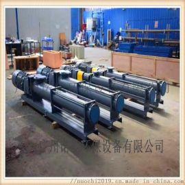 耐驰单螺杆泵大量应用于造纸行业污泥污水的输送