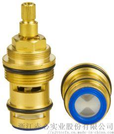 厂家供应龙头铜阀芯 分水器 水龙头配件恒温阀阀芯