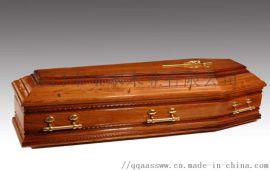 欧式 橡木 棺材