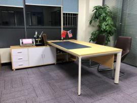 简约创意经理桌椅 东莞办公桌厂家直销