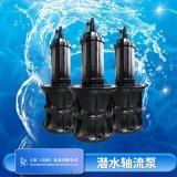 井筒懸吊安裝1200QZB-315KW潛水軸流泵