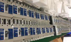 湘湖牌YH5WZ1-17/45X17/45三相组合式金属氧化物避雷器图