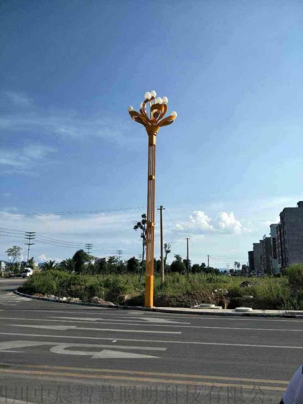 廠家定製 廣場景觀照明燈玉蘭燈九頭路燈