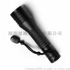 夜騎照明防水充電手電筒led 強光手電筒