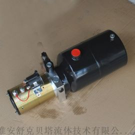 12V單作用電磁閥8L油箱液壓動力單元