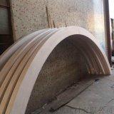 连锁店型材铝方管吊顶,竖装型材木纹铝方管