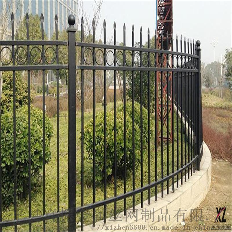 北京学校围墙护栏颜色锌钢护栏制作精良