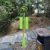 智能语音杆太阳能语音监控杆