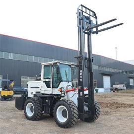 内燃式叉车五吨越野叉车 动力强劲3吨越野叉车