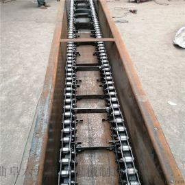 饲料刮板机 自清式刮板输送机 六九重工 单板链刮板