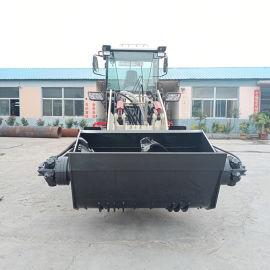 1.6方混凝土搅拌斗铲车 多功能装载机搅拌斗