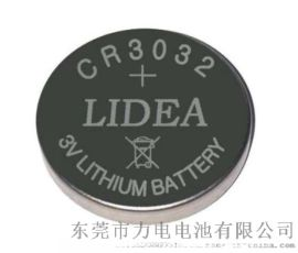 3.0V **锰纽扣电池CR3032