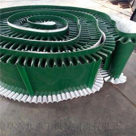 咸宁袋装水泥卸车尼龙输送机 可移动式槽钢皮带输送机