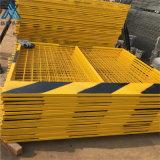 1.2米帶板護欄/黃色1.2米圍欄