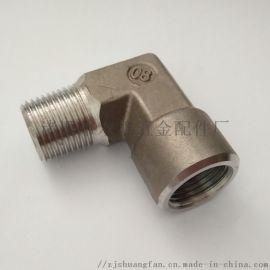 不锈钢316内外牙直通接头 英美制过度直角接头