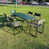 多功能摺疊桌攜帶型餐桌會議桌野戰摺疊桌