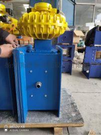 电动流量调节阀B400气动流量阀CP400