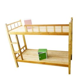 批发学生高低床中式公寓上下床松木家具托管床 青年旅馆实木床